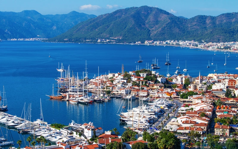 Dalaman Airport to Marmaris Bus Transfer  £6,25 per person.  /  Dalaman Airport Taxi Transfer to Marmaris  £35 perway upto 4 people.  /  Book your Dalaman Marmaris Transfers at low cost.
